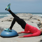 Bridge on BOSU Position 3