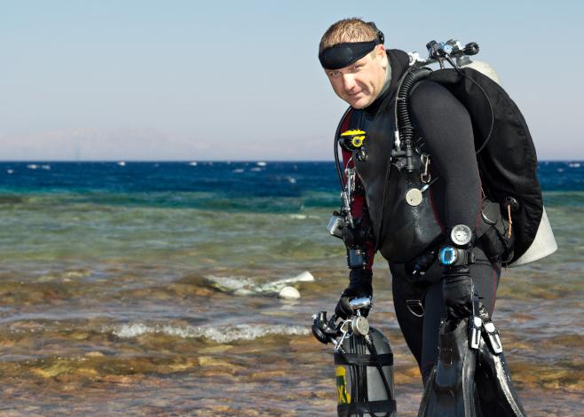 tech diver
